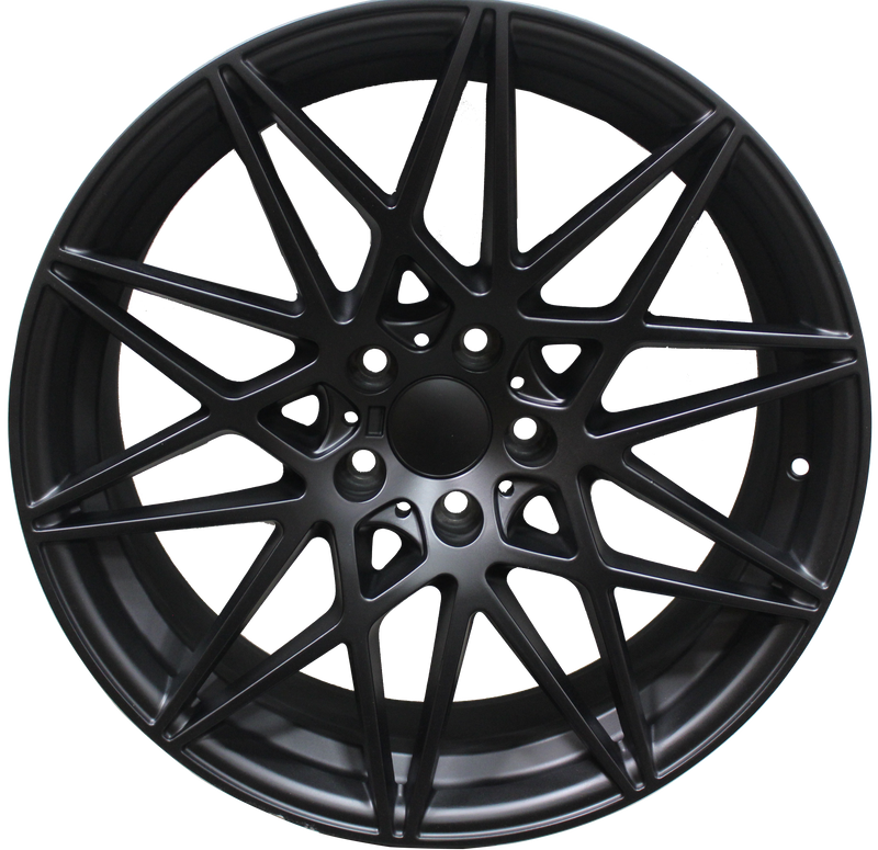 20 Inch BMW M3 Style 4 Series Rims 5 Series 6 Series 528 535 545 550 645 640 650 Satin Black Wheels