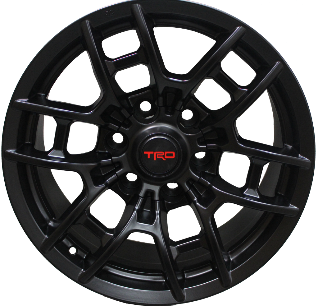 17 Inch Toyota TRD PRO Style Rims Fits 4Runner FJ Cruiser Tacoma Style Wheels
