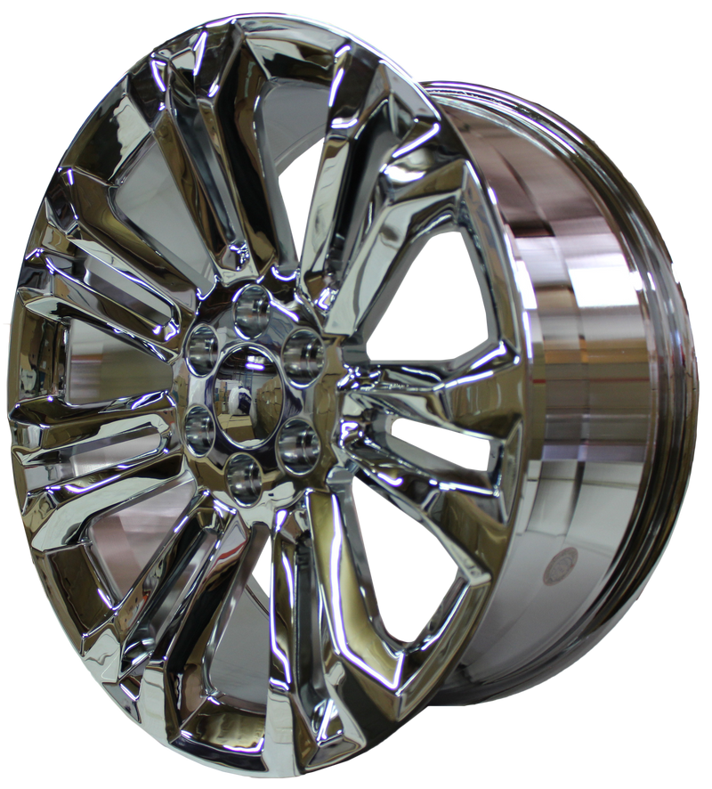 24 Inch GMC/Chevy Tahoe Sierra Denali Wheels Silverado Suburban Yukon Chrome Finish Rims