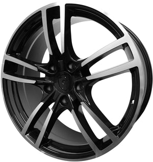 20 Inch Rims Fits Porsche Panamera Base Turbo S GTS Turbo 2 Wheels
