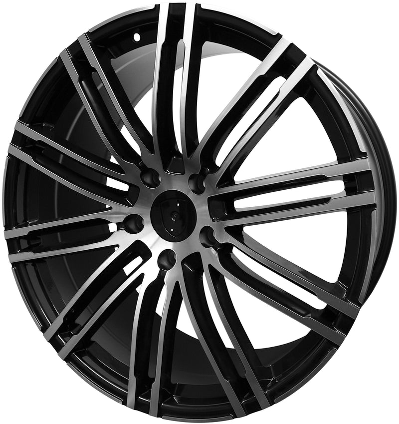 22 Inch Rims Fits Porsche Cayenne Macan Models GTS Turbo Base Wheels