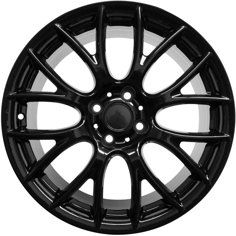 17 Inch Mini Cooper Clubman Cooper S Coupe Gloss Black Wheels