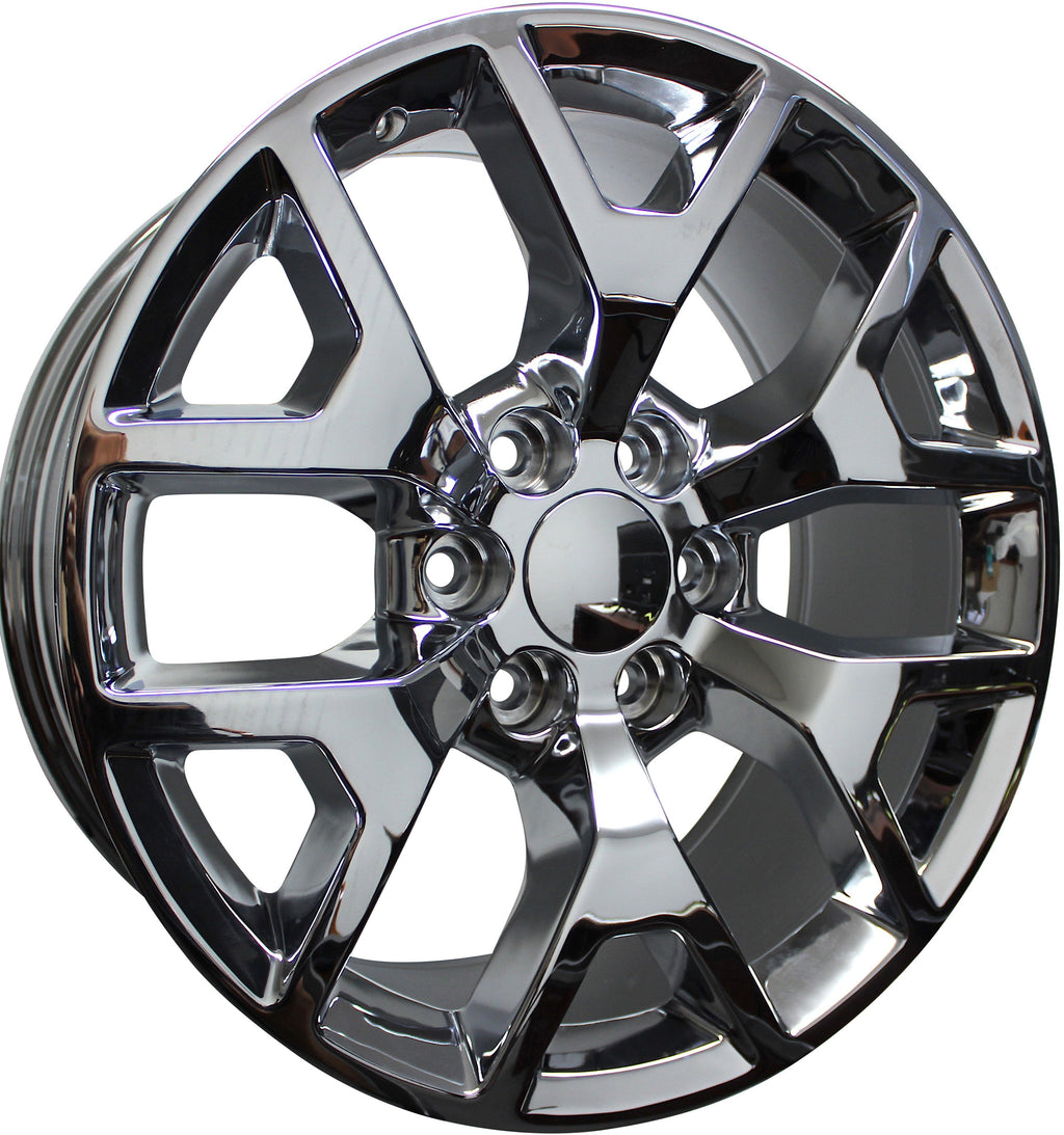 "20"" GMC/Chevy Tahoe Sierra Denali Wheels Silverado Suburban Yukon Chrome Finish Rims"
