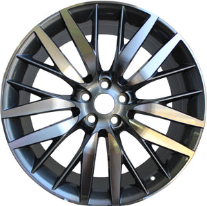 22 Inch Rims Range Rover Autobiography Style Sport LR3 LR4 & HSE Wheels Gun Metal Machined Face