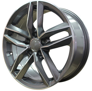 "17"" inch Audi Gunmetal Machined Face Wheels"