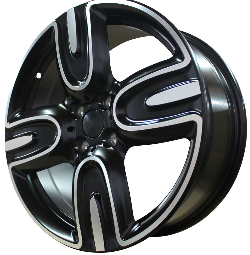17 Inch Mini Cooper Clubman Cooper S Coupe Black Wheels
