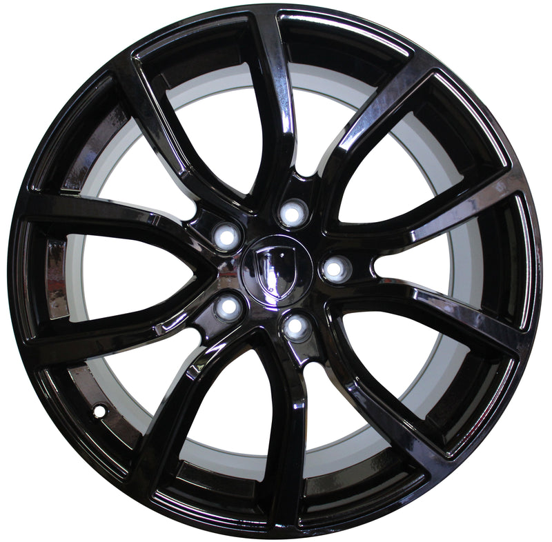 20 Inch Rims Fits Porsche Cayenne Turbo S GTS Base 2019 Gloss Black Wheels
