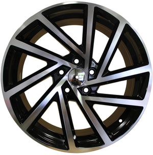 17 Inch Rims Fits Volkswagen VW Golf GTI Jetta Passat 5X112 R32 Detroit Wheels