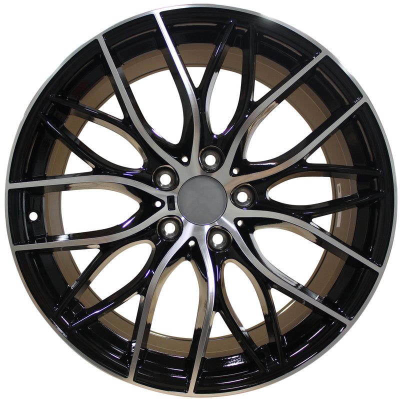 19 Inch Rims Fit BMW 3 Series 4 Series 5 Series 6 Series 7 Series Staggered Wheels