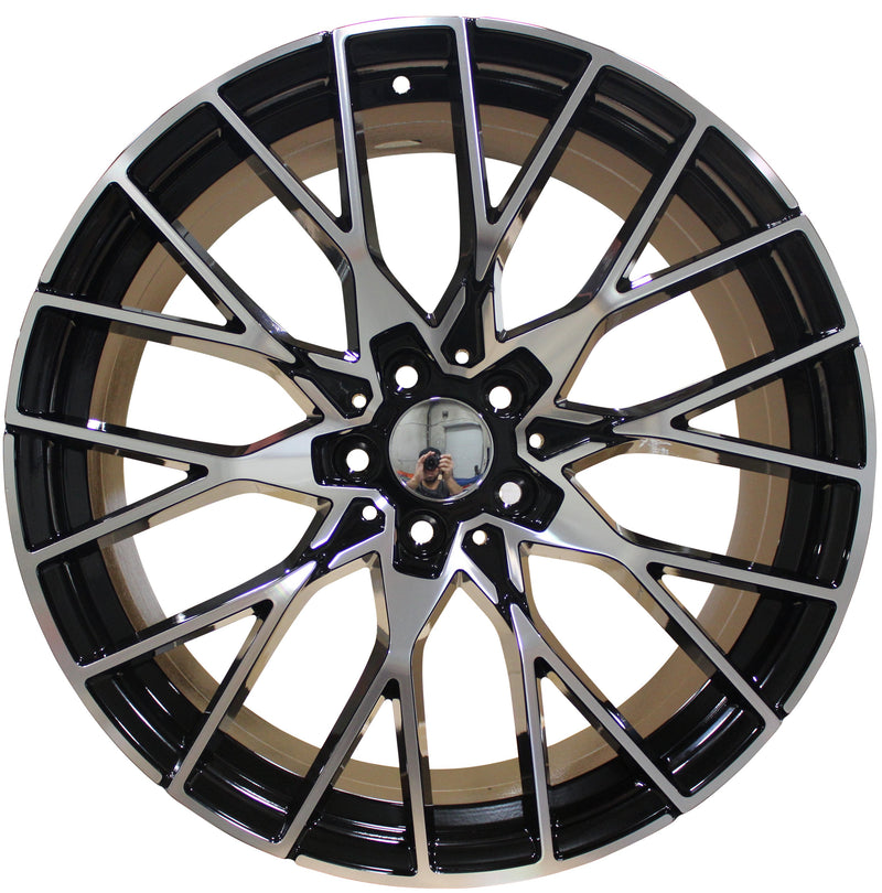 19 Inch Staggered M2 Style Rims Fits BMW 3 4 5 6 7 Series M Sport Wheels