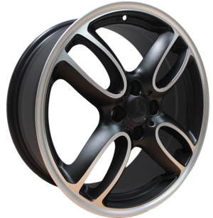 17 Inch Mini Cooper Clubman Cooper S Coupe Black Machined Wheels
