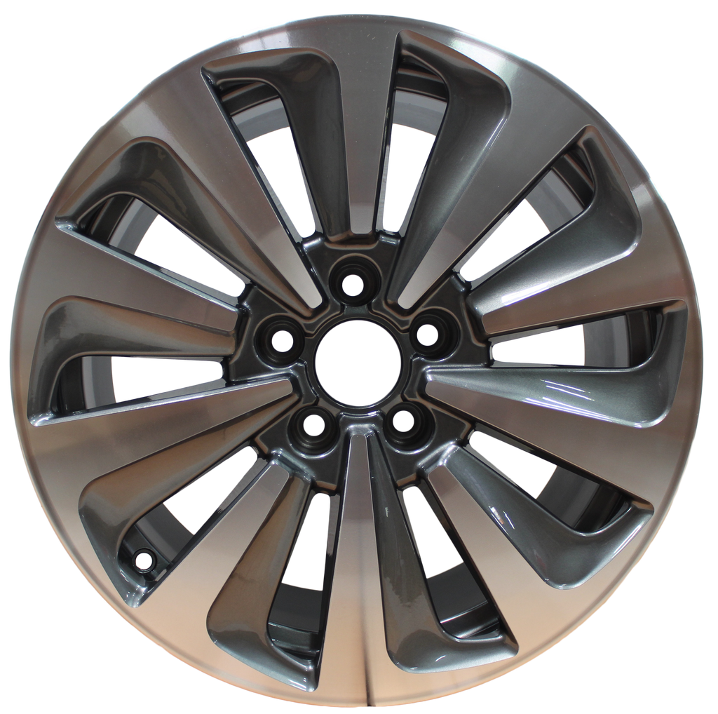 17 Inch Audi Rims A3 A4 S3 S4 Q3 Q5 Gunmetal Machined Wheels