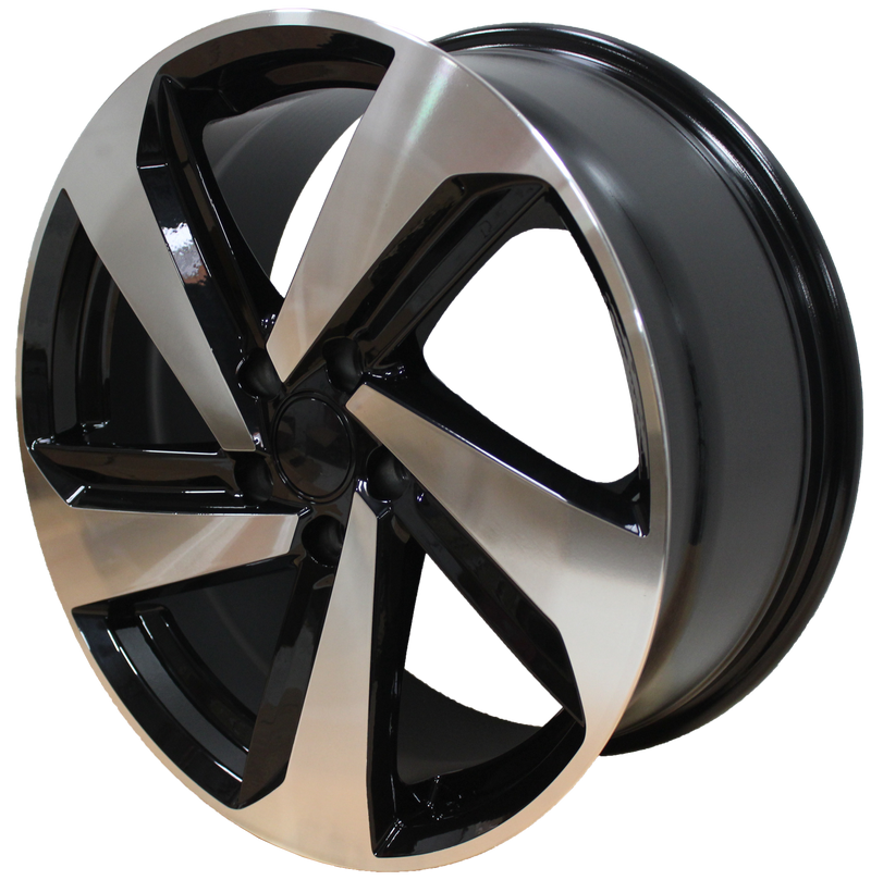 18 Inch Rims Fits Volkswagen VW Golf GTI Jetta Passat 5X112 R32 Wheels