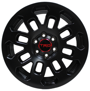 17 Inch Toyota TRD PRO Style Rims Fits 4Runner FJ Cruiser Tacoma SEMA Offroad Style Wheels