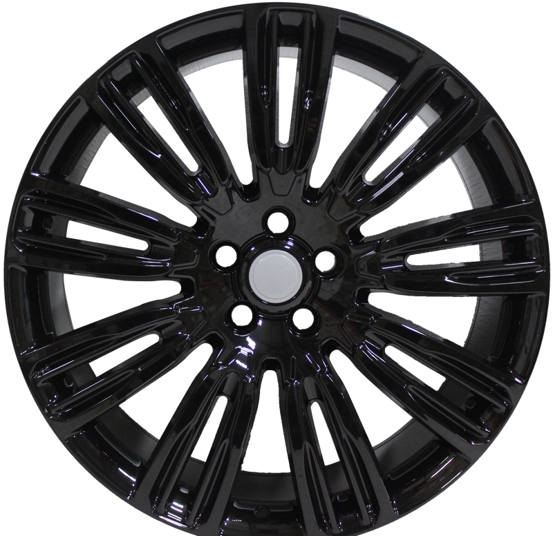 22 Inch WHEELS FITS ALL VELAR EVOQUE FREELANDER HSE GLOSS BLACK RIMS