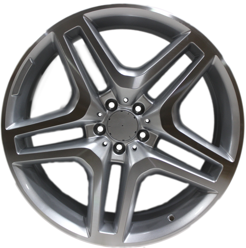 21x10 Inch Mercedes ML GL GLS GLE Rims ML63 ML550 ML500 ML400 GL63 GL550 GLE GLS Machined