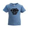 MONOFACES Infant Short Sleeve Tee - The Black Pug