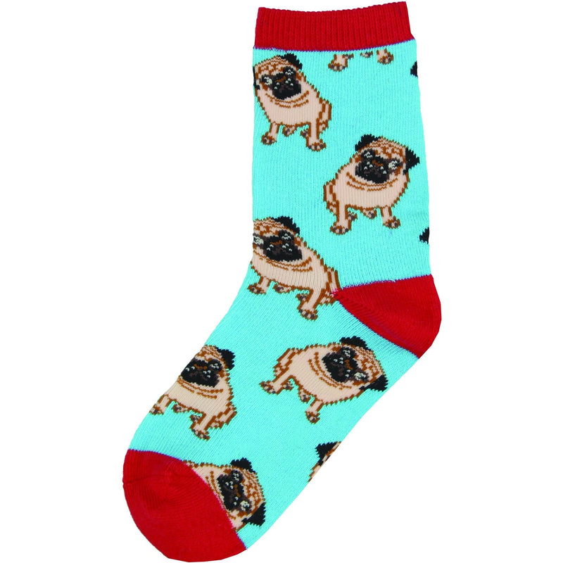 Socksmith Brand - Children's Pug Socks - The Black Pug