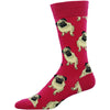 Socksmith Brand - Men's Pug Socks - The Black Pug