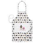 Fenella Smith Pug Cotton Apron - The Black Pug