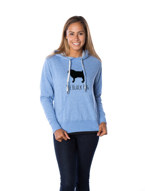 The Black Pug Original Unisex Hoodie
