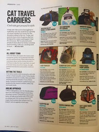 September-October Issue: Pets Plus Magazine: Featuring the Darien Pet Carrier