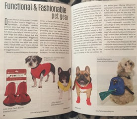 Pet Companion Magazine:  Functional & Fashionable pet gear