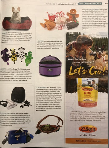 September 2017 Issue: Pet Product News: The Bentley Featured!