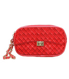 red Zuzu Poop Bag Wristlet
