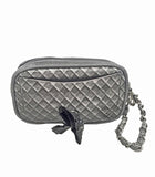 Grey Poop Bag Pouch - Wristlet