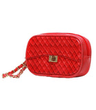 Zuzu Poop Bag Wristlet in red