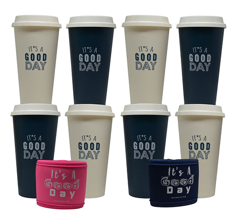 Blushers Reusable Coffee Cups
