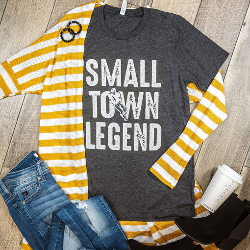 small town legend graphic tee