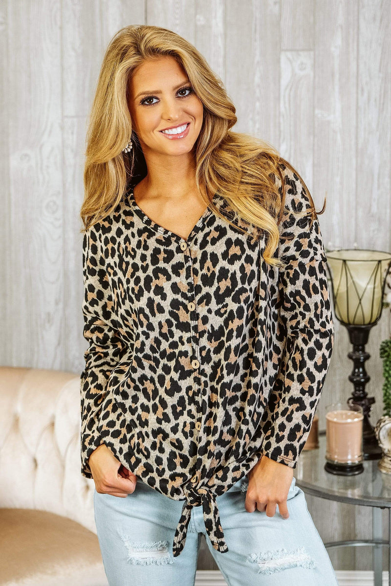 Glitzy Girlz Boutique All About The Spots, Taupe/Black