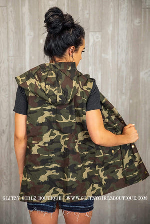 Glitzy Girlz Boutique Can You See Me Utility Vest