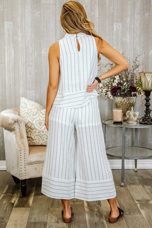 Glitzy Girlz Boutique Coast Of Carolina Pants, Off White