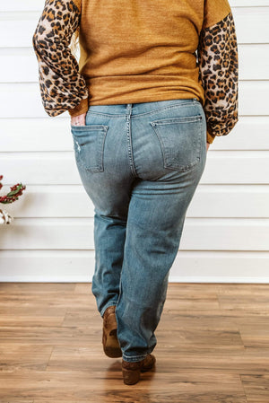 Glitzy Girlz Boutique Curvy Juliet Denim Jeans