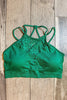 Glitzy Girlz Boutique Curvy Something Extra Bralette, Kelly Green
