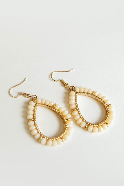Glitzy Girlz Boutique Dress Code Approved Earrings, Natural