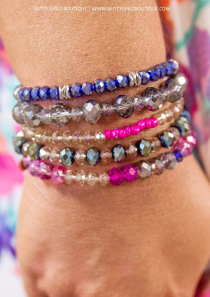 Glitzy Girlz Boutique GG Bracelet Set: Fairy Dust