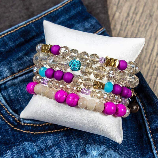 Glitzy Girlz Boutique GG Bracelet Set: Party Girl