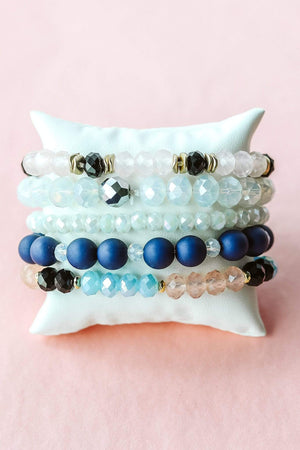 Glitzy Girlz Boutique GG Bracelet Set: Sailor's Delight