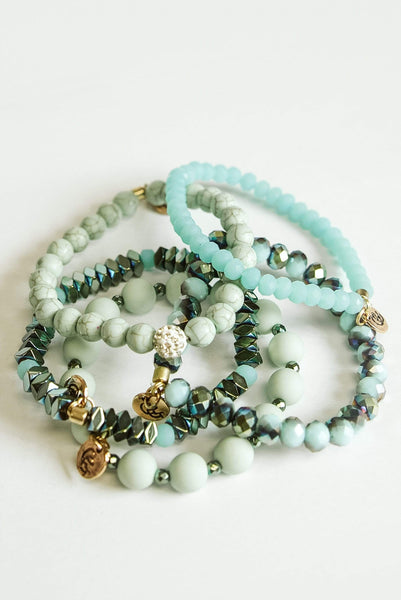 Glitzy Girlz Boutique GG Bracelet Set: Spring Creek
