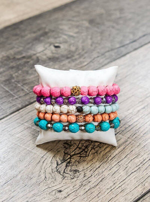Glitzy Girlz Boutique GG bracelet set: Starlight