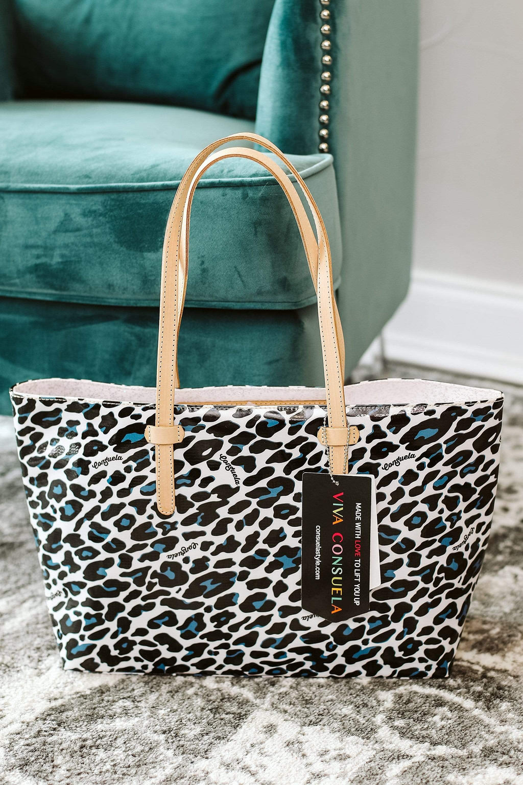 Glitzy Girlz Boutique Lola East/West Tote
