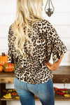Glitzy Girlz Boutique On The Prowl Top, Leopard