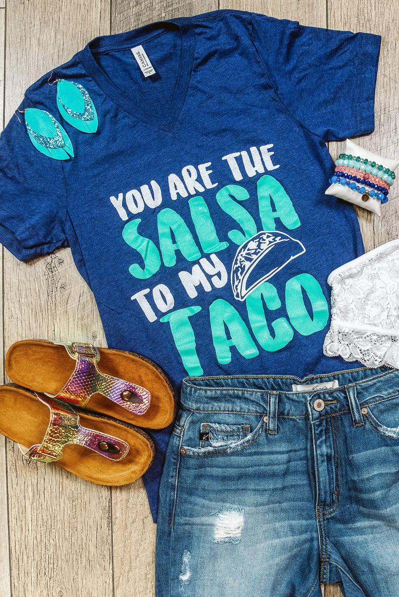 Glitzy Girlz Boutique Salsa to my Taco Graphic Tee