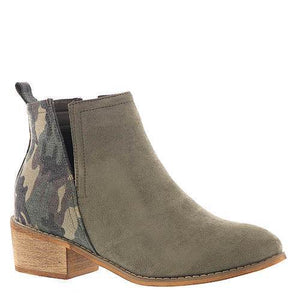 Glitzy Girlz Boutique Shield Bootie, Camo