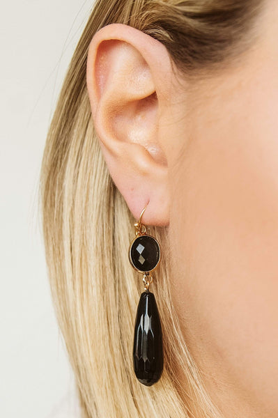 Glitzy Girlz Boutique Staples Are Best Earrings, Black