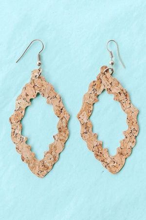 Glitzy Girlz Boutique Take Note Earrings, Natural